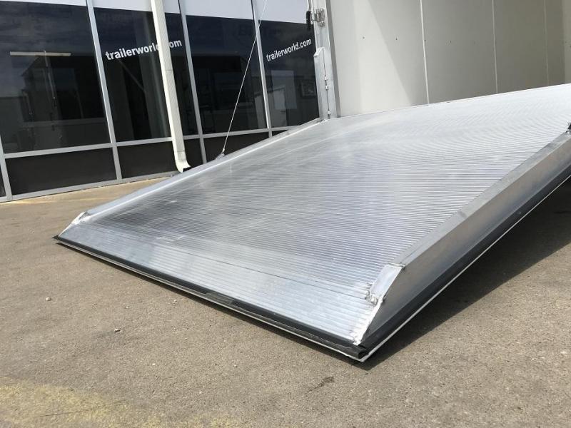 """2019 Aluma AE714 7' x 14' x 6'9"""" Aluminum Enclosed Cargo Trailer"""
