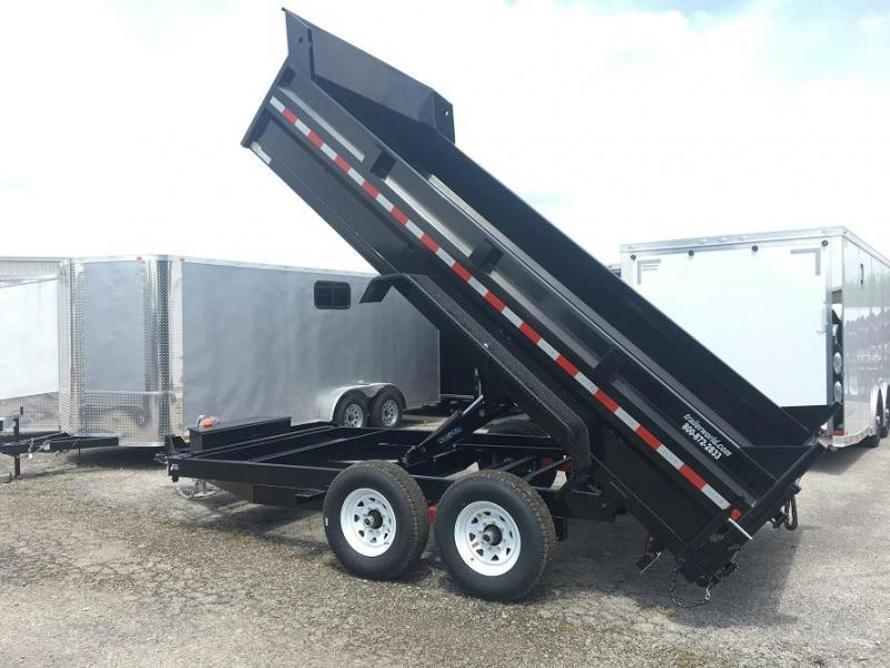 2018 Sure-Trac 14' Dump Trailer 14K GVWR Scissor Dump