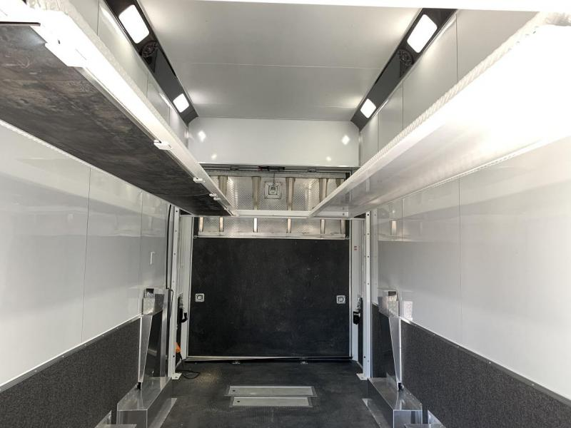 2019 Haulmark Aluminum 28' Stacker Race Trailer