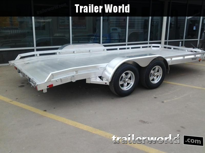 "2019 Aluma 78"" x 16'  Aluminum Open Car Hauler Trailer"