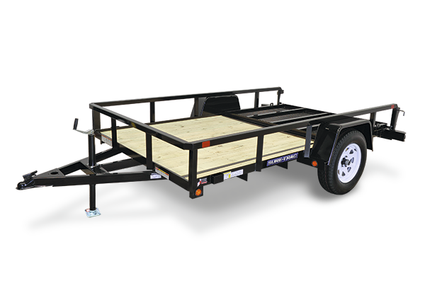 2019 Sure-Trac 6' x 12' Single Axle Utility Trailer Spring Assist Gate