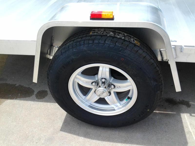 2018 Aluma 8114 SR 14' Aluminum Utility ATV Trailer