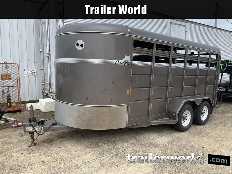 2014 CornPro Trailers SB-16' Bumper Pull Stock Trailer in Ashburn, VA