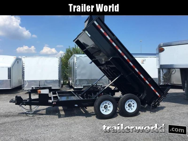 2018 Sure-Trac 12' Dual Ram Dump Trailer 12k GVWR