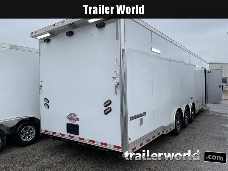 2019 Cargo Mate Eliminator 34' Race Trailer Bath Pkg