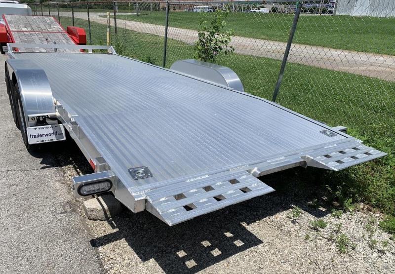 2019 American Hauler 20' Aluminum Tilt Bed Flatbed Trailer 10k GVWR