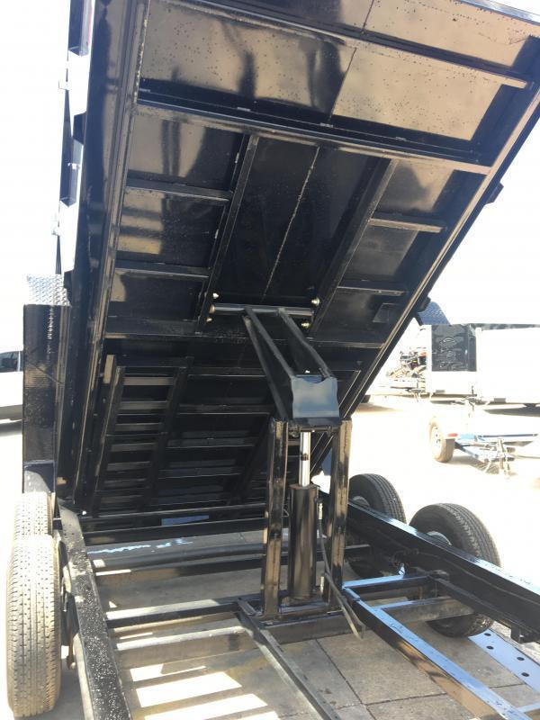 2019 Big Tex Trailers 14LP-16' Dump Trailer w/ TARP - LOW PROFILE