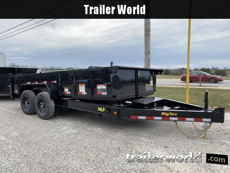 2019 Big Tex Trailers 14LP-16' Dump Trailer w/ TARP - LOW PROFILE