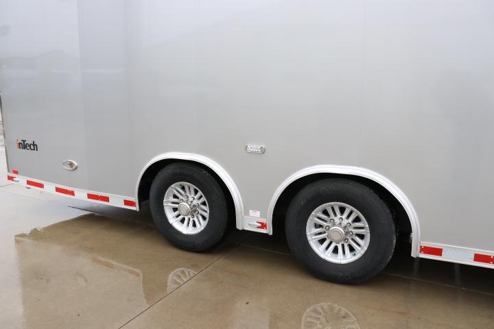 2018 inTech Custom 24' iCon Aluminum Enclosed Car / Race Trailer