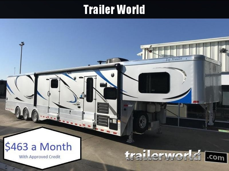 2019 Sundowner Aluminum 1986GM Toy Hauler Trailer 24' Garage