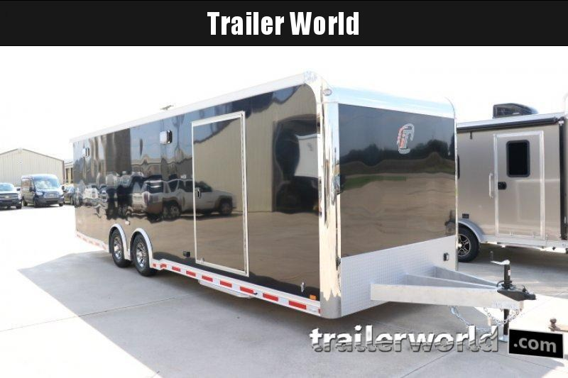 2018 inTech 28' iCon - All Aluminum Race Trailer