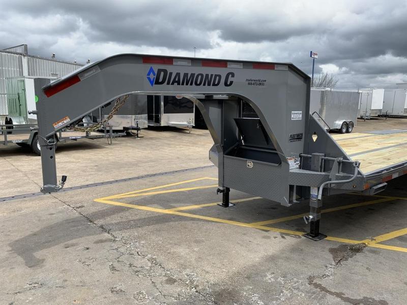 2019 Diamond C FMAX210 27' + 5' Gooseneck Trailer 25K GVWR