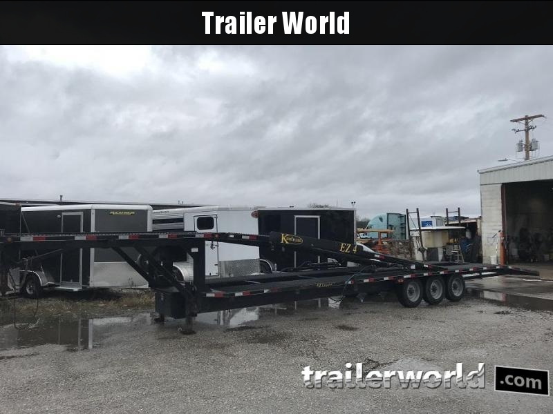 2016 Kaufman Trailers Double Deck EZ 4 Car Hauler Trailer
