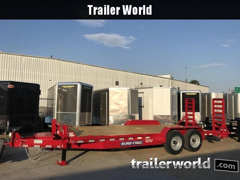 2019 Sure-Trac 20' Equipment 16k GVWR