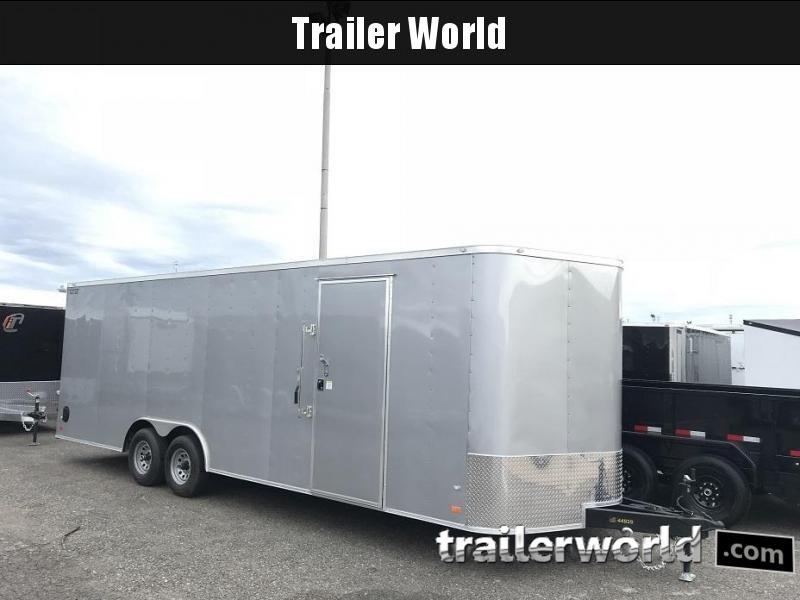 2018 CW 24' Enclosed Car Trailer 10k GVWR 7' Tall