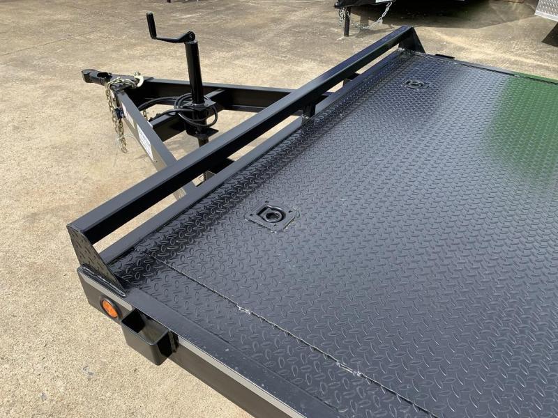 2019 B-B 18 Steel Deck Open Car Flatbed Trailer