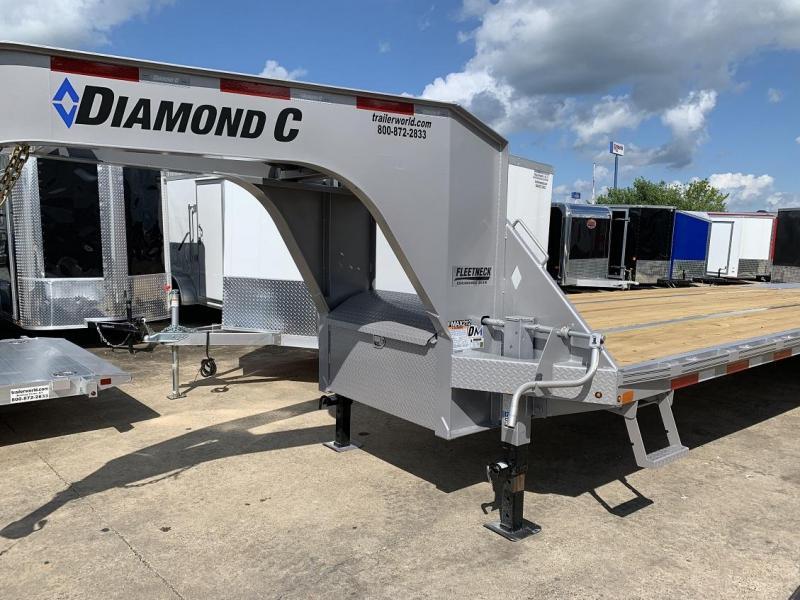 2019 Diamond C FMAX212 40' Gooseneck Flatbed Trailer DISC Brakes