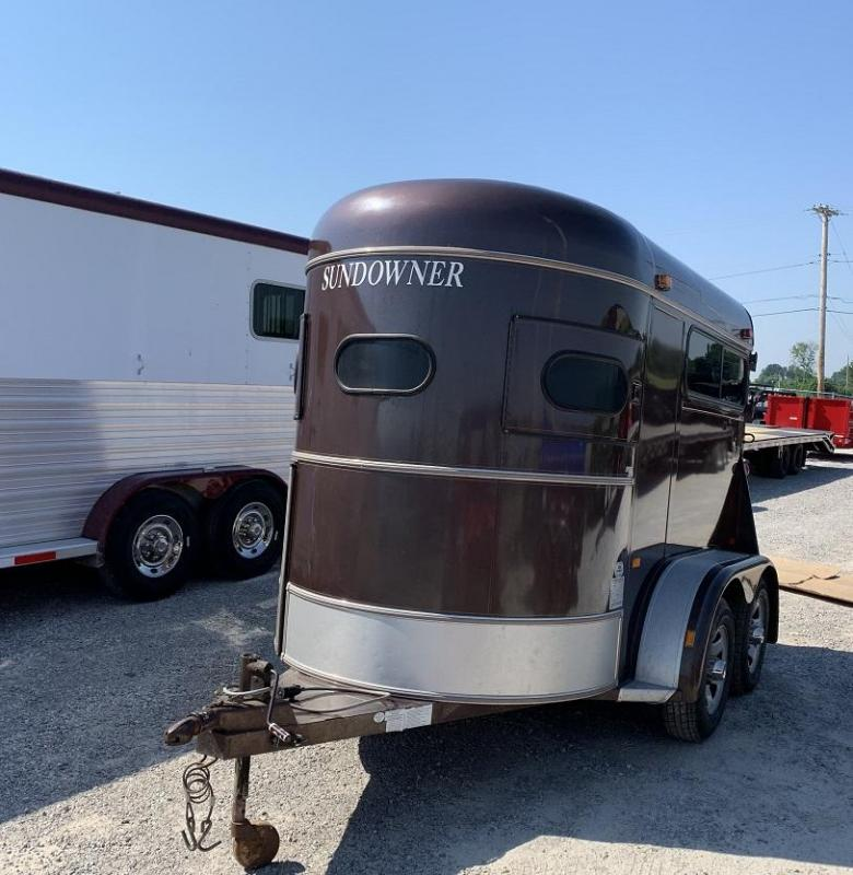 1993 Sundowner Trailers Straight Load Bumper Pull Horse Trailer