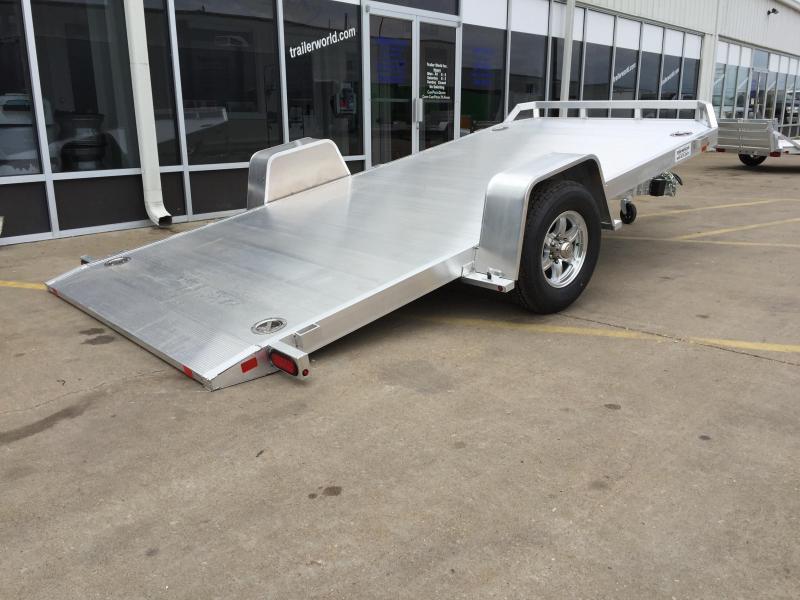 2019 Aluma 8214HS 14\' Single Axle Aluminum TILT Open Car Hauler ...