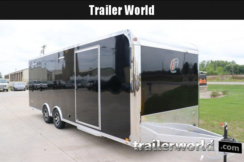 2020 inTech  24' Lite Aluminum Enclosed Car / Race Trailer