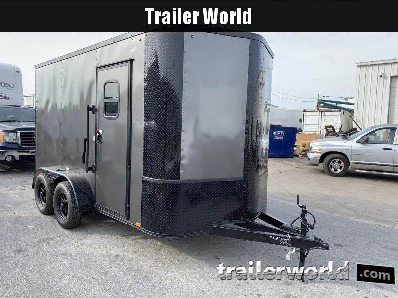 2019 Arising 7 x 12 x 7 Enclosed Cargo Trailer w/ Windows in Ashburn, VA