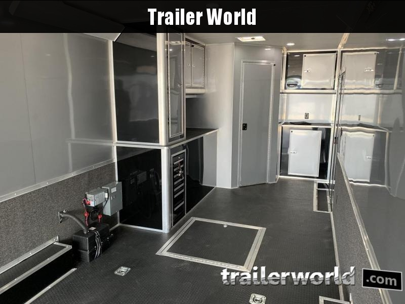 2020 Cargo Mate Eliminator 34' Race Trailer Bath Pkg