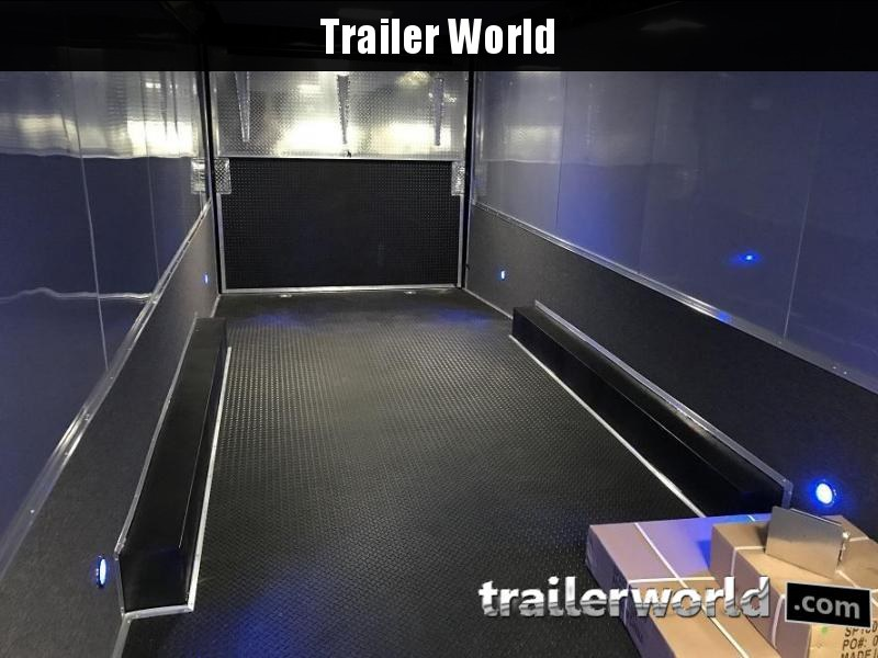 2020 Cargo Mate Eliminator 28' Black-Out Race Trailer