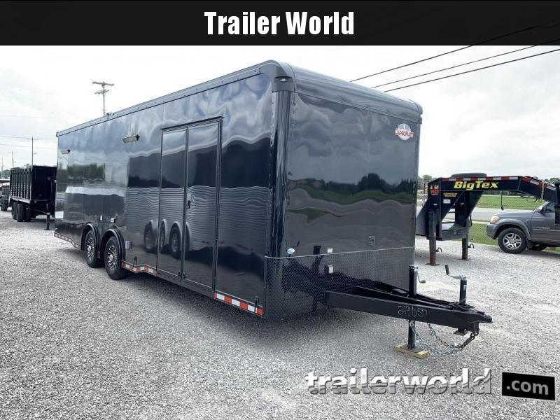 2020 Cargo Mate Eliminator 28' Black-Out Race Trailer