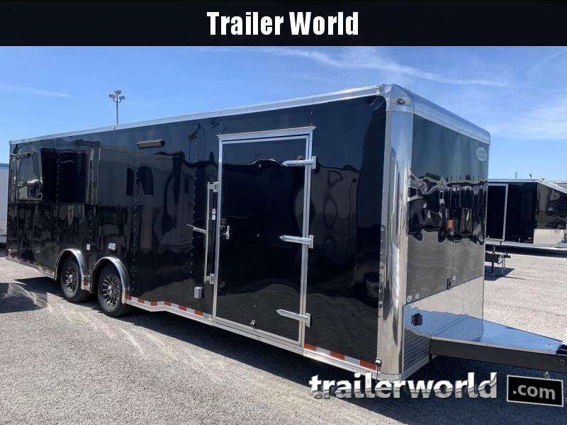 2020 Continental Trailers 28' Race Trailer Spread Axles