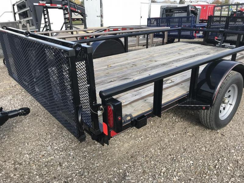 "2018 Diamond C 2PSA 12' x 77"" Utility Trailer - CLEARANCE"