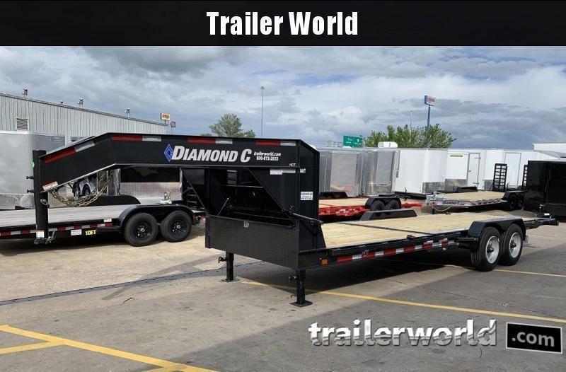2019 Diamond C HDT Gooseneck 24' w/ 16' Tilt-Bed Equipment Trailer 10 Ton in Ashburn, VA