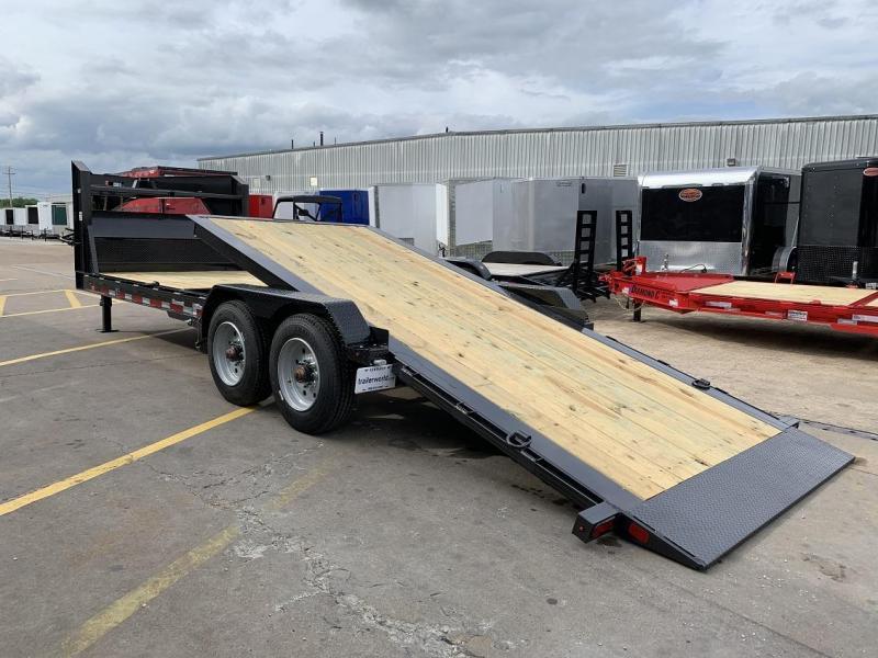 2019 Diamond C HDT Gooseneck 24' w/ 16' Tilt-Bed Equipment Trailer 10 Ton