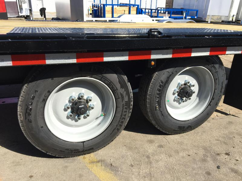 2019 Sure-Trac Deck Over 25' Bumper Pull Equipment Trailer 17.6k GVWR