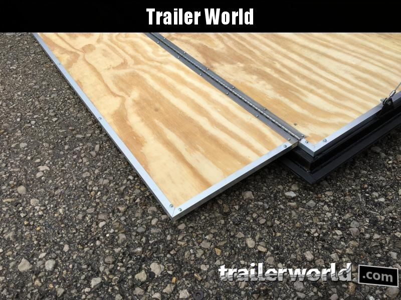 2020 CW 7' x 12' x 7' Cargo Vnose Enclosed Trailer Ramp Door