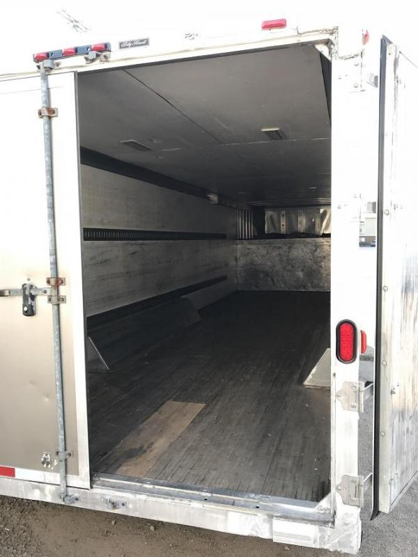 2006 Featherlite 36' Gooseneck Enclosed Cargo Trailer