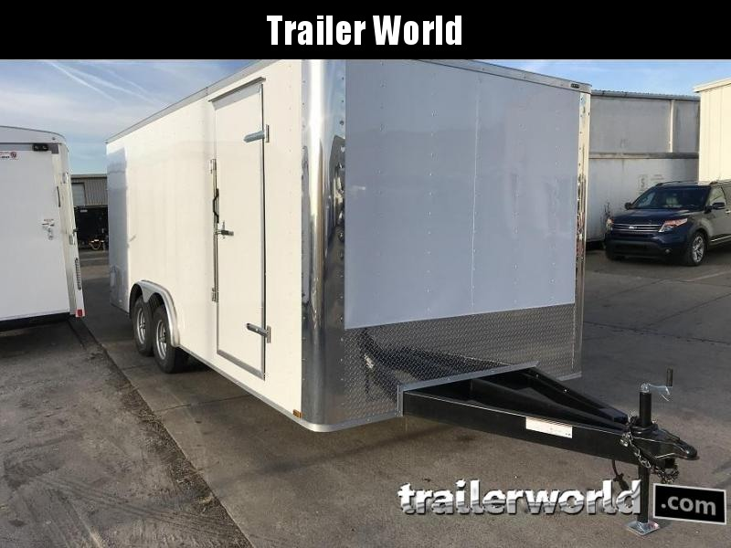 2018 Lark 8.5' x 20' x 7' Enclosed Car Trailer