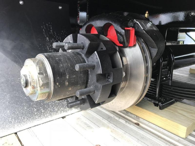 2019 Midsota FBGN 33' Hydraulic Dovetail Gooseneck Trailer HYD DISC Brakes 25900 GVWR