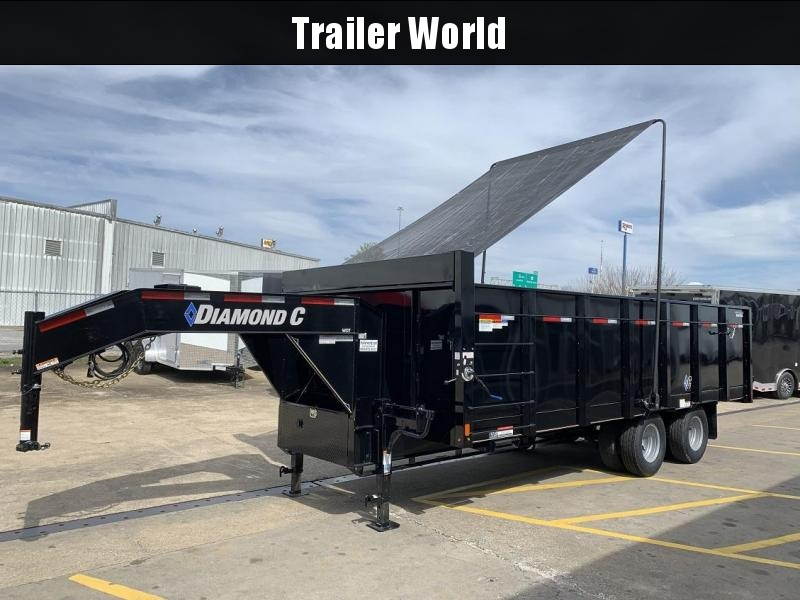 2019 Diamond C WDT 20' Gooseneck Dump Trailer in Ashburn, VA
