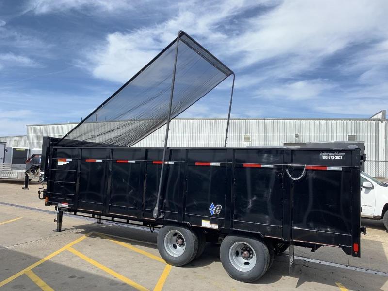 2019 Diamond C WDT 20' Gooseneck Dump Trailer
