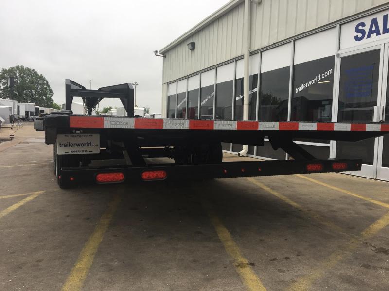 2019 Sure-Trac Gooseneck 22' Deck Over Tiltbed Equipment Trailer 17.5k GVWR