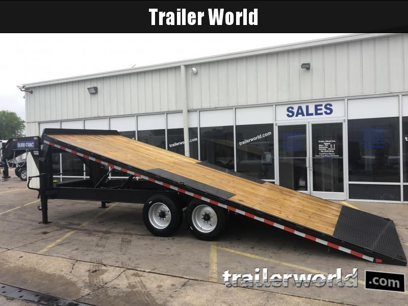 2019 Sure-Trac Gooseneck 22' Deck Over Tiltbed Equipment Trailer 17.5k GVWR