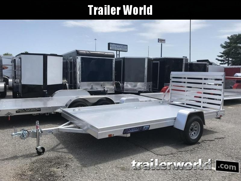 2019 Aluma 7812ES 12' Aluminum Utility Trailer