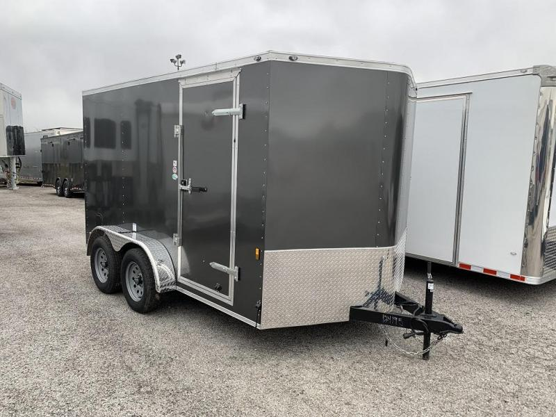 2018 Continental Cargo 7' x 12' Enclosed Cargo Trailer
