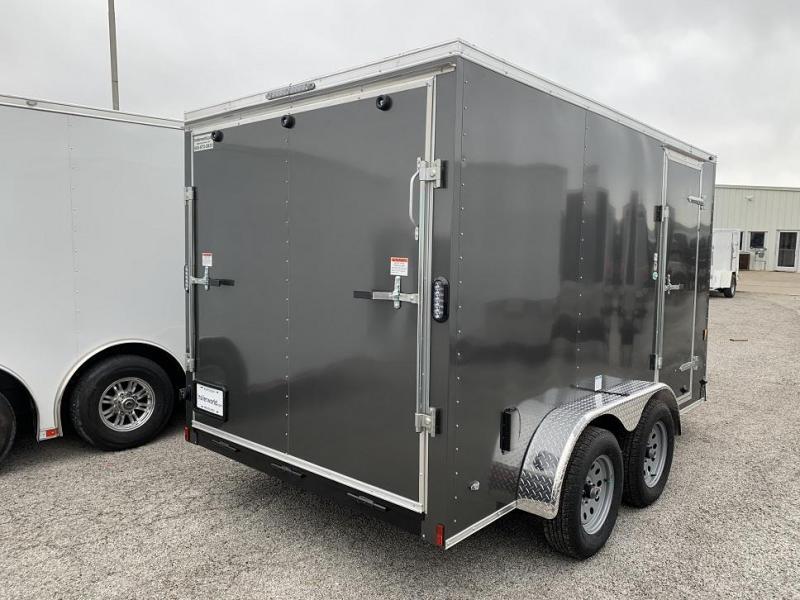 2018 Continental Cargo 7' x 12' Enclosed Cargo Trailer