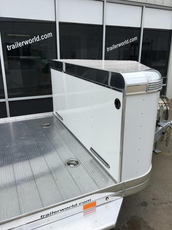 2019 Sundowner Ultra Aluminum 22' Tapered Front Open Car Hauler Trailer