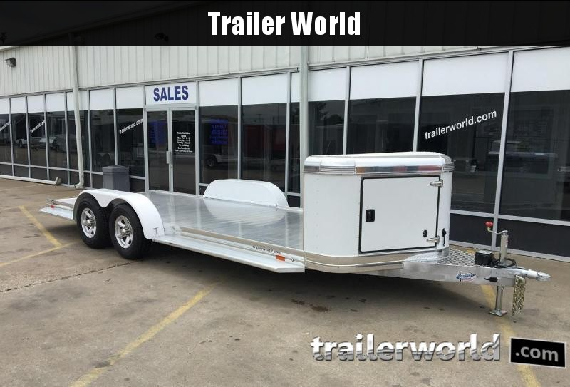 2019 Sundowner Ultra Aluminum 22' Tapered Front Open Car Hauler Trailer in Ashburn, VA