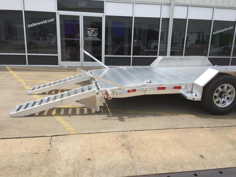2020 Aluma 20' Aluminum Flatbed Equipment Trailer 14k GVWR