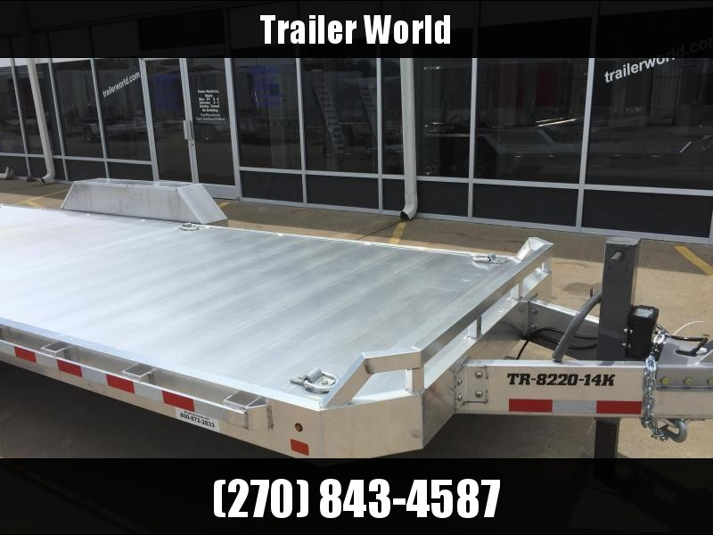 2020 Aluma 20' Aluminum Flatbed Equipment Trailer 14k GVWR