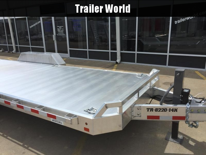 2020 Aluma 20' Aluminum Flatbed Equipment Trailer 14k GVWR in Ashburn, VA