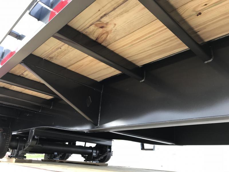 2019 Diamond C FMAX210 27' + 5' Gooseneck Flatbed Equipment Trailer 25k GVWR